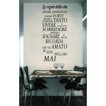 Le Regole Della Vita
