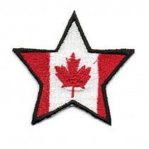Bandiera Canada forma Stella