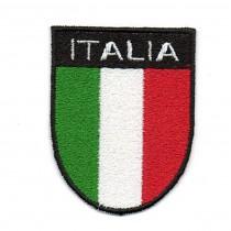 Scudetto Italia con scritta