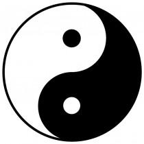 Adesivo Yin Yang