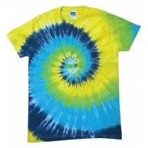 Spirale Green Yellow Blue Black