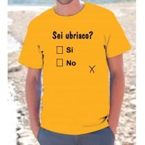 Maglietta Sei Ubriaco?