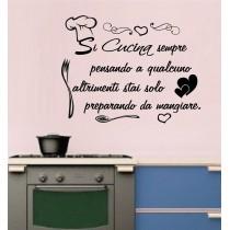 Si cucina sempre pensando a...