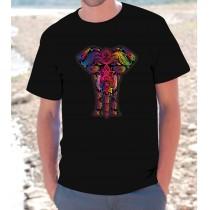 Maglietta Elefante Tribale