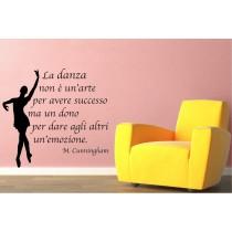 La danza non è un'arte per...