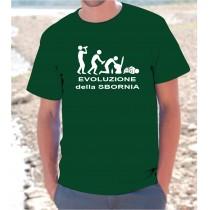 Maglietta Evoluzione della...