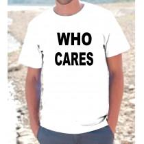 Maglietta WHO CARES